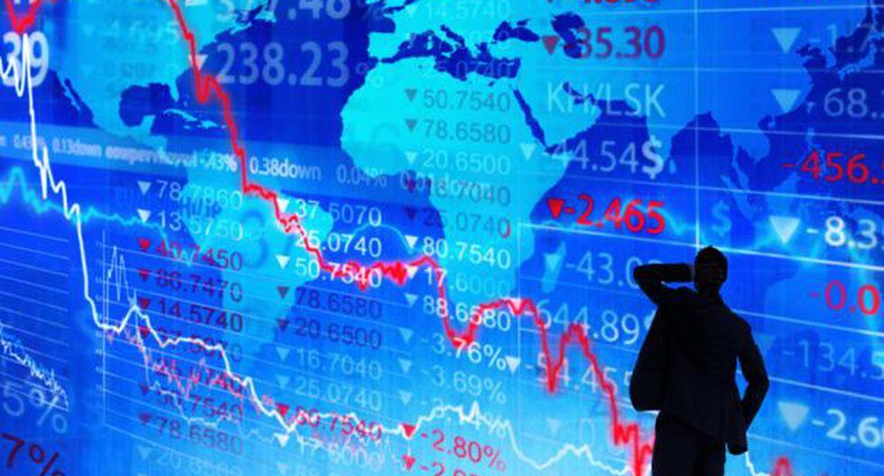 Perspectivas de la economía mundial a la baja.