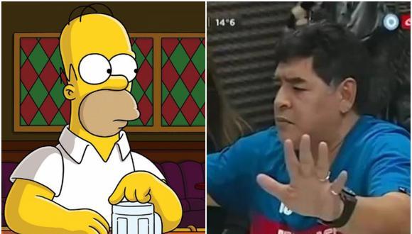 Humberto Vélez, actor que dio voz a Homero Simpson en Latinoamérica, respondió a las críticas del ex futbolista luego de que este arremetiera contra la serie. (Fotos: Crónica y Fox)