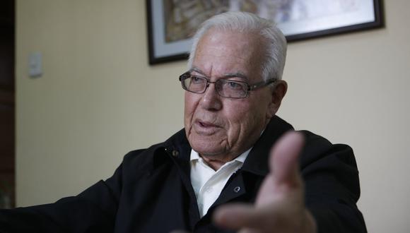 Monseñor Luis Bambarén falleció a los 93 años a causa del COVID-19. (Foto: GEC)