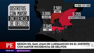 SJL es el distrito con mayor delincuencia en Lima metropolitana