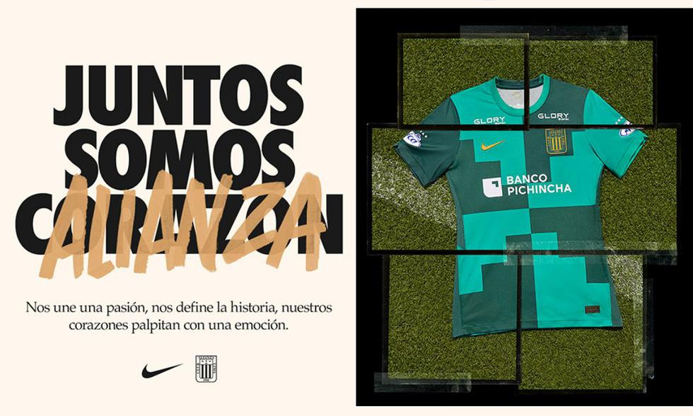 El jueves 8 de abril salió a la venta la camiseta alterna de Alianza Lima.