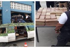 Tumbes: incautan 132 kilos de marihuana camuflados en vehículo procedente de Ecuador
