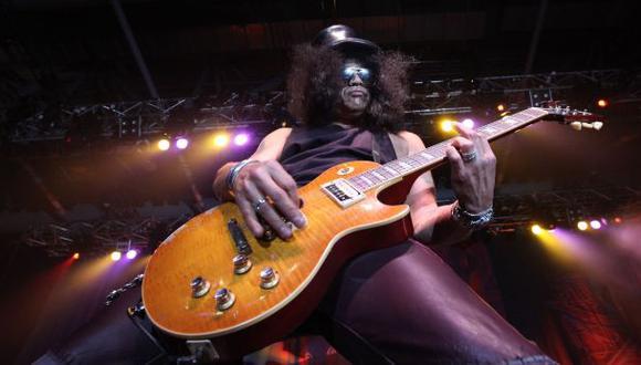 Slash y su mensaje a limeños tras show de los Guns N' Roses