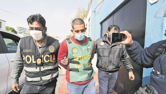 Eduardo Paolo Barboza Márquez fue detenido el pasado 26 de mayo en Comas. (GEC)