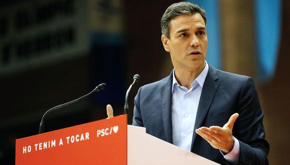 Hay un riesgo real, cierto, alertó Sánchez de la posibilidad de que Vox tenga un mejor resultado. (Foto: AFP)