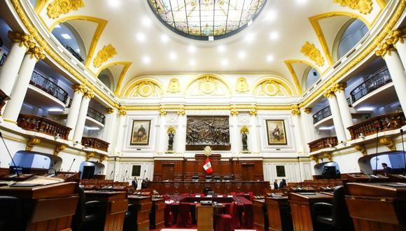 Pleno del Congreso sesionará de manera virtual este lunes. (Foto: Congreso)
