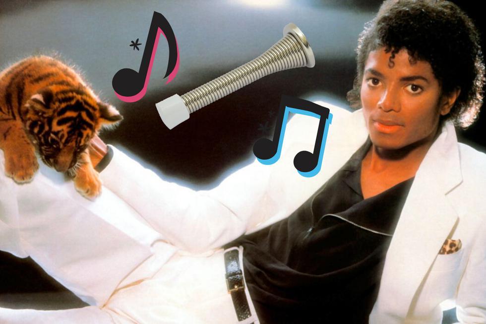 Los fanáticos de Michael Jackson delilaron con esta original versión de uno de sus clásicos interpretado con un tope para puerta de resorte. (Foto: USI)