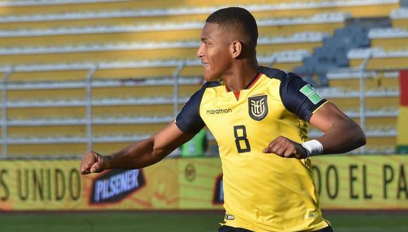 Ecuador no podrá contar con Carlos Gruezo para el partido ante Perú por coronavirus. (Foto: Agencias)