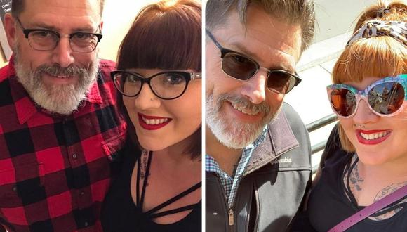 Jeff y Erica Quiggle tienen una hija. Esta familia se lleva muy bien. (Foto: Jeff Quiggle   Facebook)