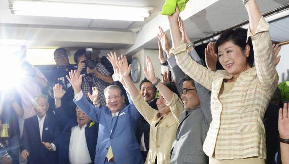 Yuriko Koike, la primera mujer en ganar las elecciones en Tokio