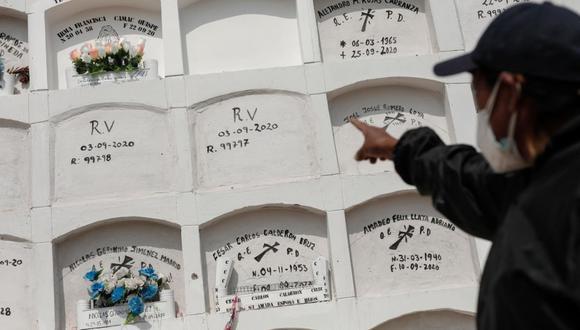 La cantidad de fallecidos por COVID-19 aumentó este viernes. (Foto: Leandro Britto / @photo.gec)