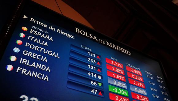 El índice principal de la Bolsa de Valores de Londres, el FTSE-100, cerró hoy con una caída del 0.62 %. (Foto: EFE)
