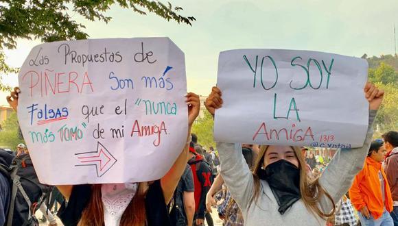 El gobierno ha tomado diversas medidas para responder al descontento social, pero muchos no ven suficiente la respuesta de Piñera a sus demandas. Foto: FRANCISCO JIMÉNEZ, vía BBC Mundo