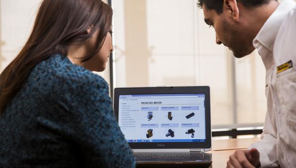 Ferreyros viene impulsando la venta de repuestos online.
