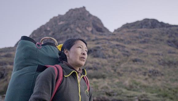 La cinta narra la historia de una de las primeras mujeres en trabajar como porteadora oficial del Camino Inca. (Foto: Pacha Films)