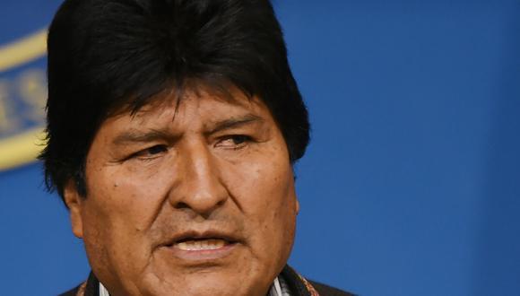 El renunciante presidente Evo Morales, cuyo paradero exacto se desconoce, denunció una orden de captura en su contra después de que así lo anunciaran los líderes opositores en Bolivia. (AFP)