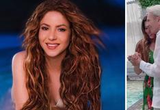 Shakira celebra los 90 años de su papá con emotivo baile junto a él   VIDEO