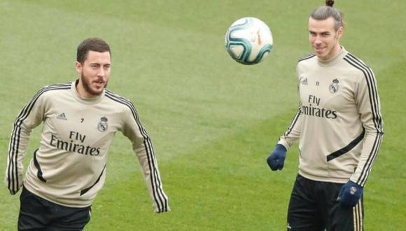 Gareth Bale se solidarizó con Eden Hazard por lo que vivió en Real Madrid. (Foto: EFE)