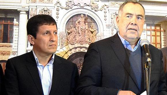 """Gana Perú: """"Rondón coordina con el Apra y el fujimorismo"""""""
