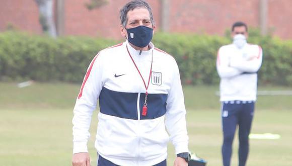 Alianza Lima decidió ponerle punto final al contrato con Mario Salas ante los malos resultados. (Foto: Alianza Lima)