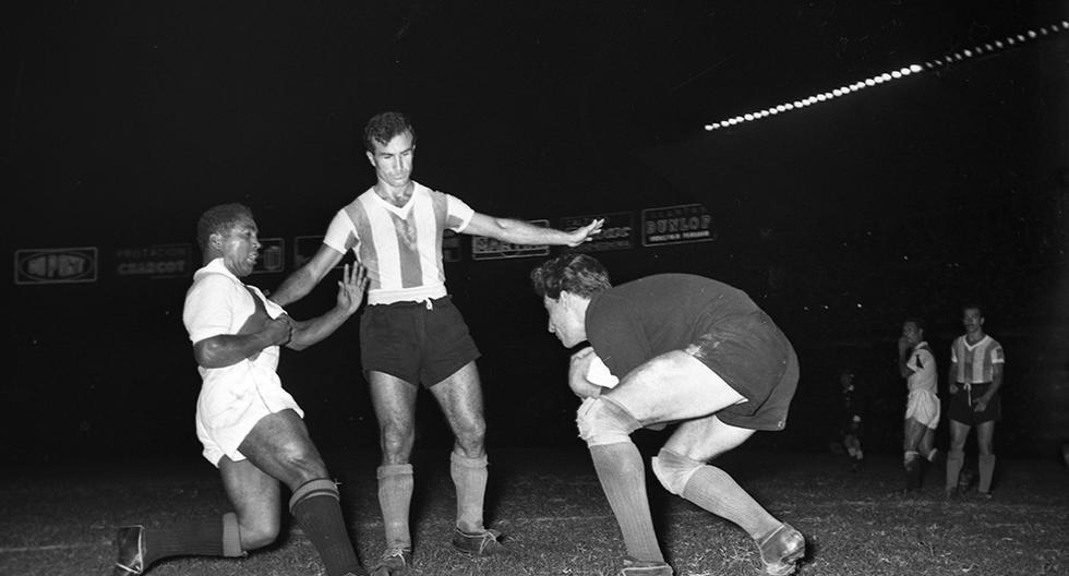 El sábado 6 de abril de 1957, la selección peruana le ganó a Argentina por primera vez en la historia. (Foto: GEC Archivo Histórico)