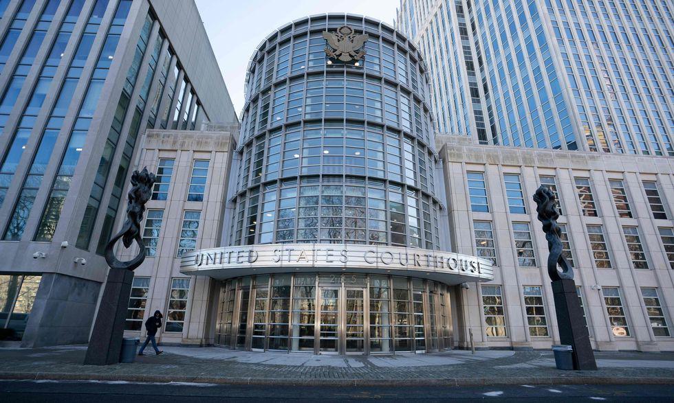 La corte donde se juzga a El Chapo Guzmán. (AFP).
