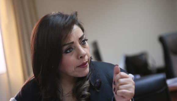 La congresista Alejandra Aramayo indicó que, de ser convocada, asistirá a la Comisión de Ética para dar su versión respecto al caso. (Foto: GEC)
