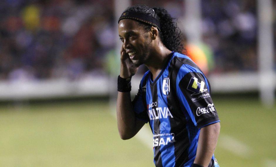 Ronaldinho por fin regresó a Querétaro: ¿Qué le dijeron?