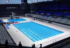 Inauguran la sede olímpica de deportes acuáticos en Tokio