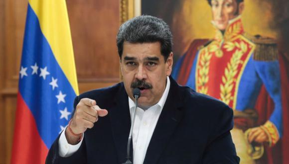El presidente de Venezuela, Nicolás Maduro, durante una reunión con las fuerzas armadas bolivarianas en el Palacio de Miraflores en Caracas, Venezuela. (Foto: Palacio de Miraflores / REUTERS / Archivo).