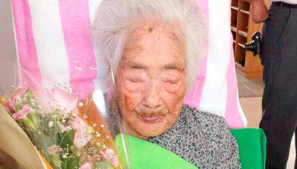 Nabi Tajima, la última persona conocida nacida en el siglo XIX. (Foto: Reuters)