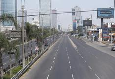 COVID-19: Gobierno dispone inmovilización social y restricción vehicular los días domingo en Lima y Callao hasta el 9 de mayo