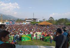 Vraem: acatan paro de 48 horas en rechazo a la erradicación de cultivos de hoja de coca