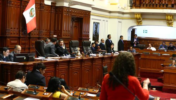 El Pleno de Congreso llevó a cabo el último Pleno de la legislatura donde se aprobaron la ley de la carrera del trabajador judicial y el fortalecimiento de la Federación Peruana de Fútbol. (Foto: Congreso)