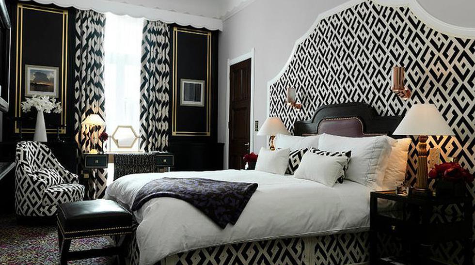 A la moda: Conoce los cuartos de hotel hechos por diseñadores - 1