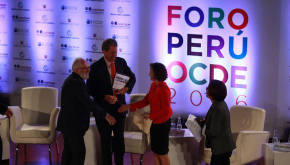 El horizonte para que Perú vuelva a tentar su ingreso a la OCDE es incierto. (Foto: GEC)