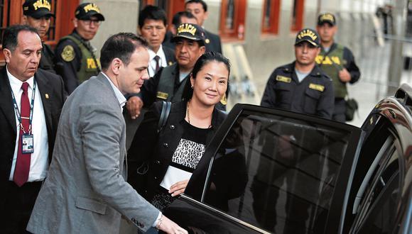 Keiko Fujimori será investigada ahora por presunto lavado de activos, así como otros delitos (Foto: GEC)