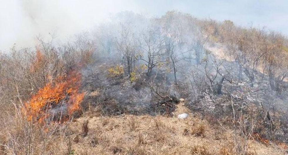 Lambayeque: incendio amenaza a moradores de tres distritos - 2