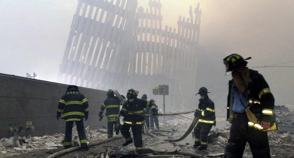 Brooklyn firefighters with the memory still alive of the