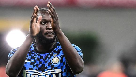 Romelu Lukaku firmó contrato con Inter de Milán por las próximas seis temporadas. (Foto: AFP)