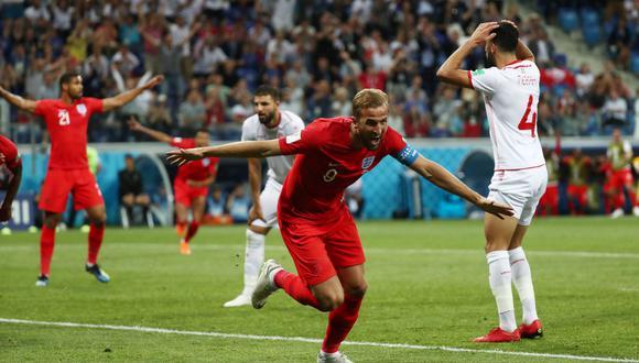 Inglaterra sufrió más de la cuenta para imponerse ante Túnez por el Grupo G del Mundial Rusia 2018. Harry Kane fue la figura del encuentro y marcó doblete. (Foto: Reuters)