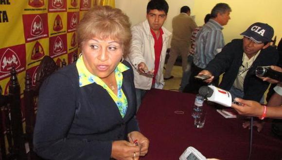Chimbote: suspenden a alcaldesa sentenciada por corrupción