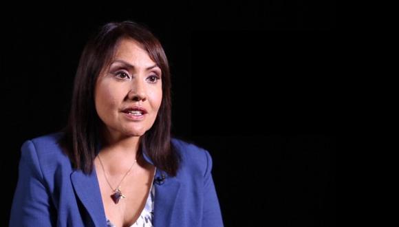 María Jara es la ministra de Transportes y Comunicaciones. (Foto: GEC)