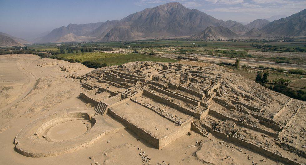 A Caral se le atribuye una antigüedad de 5000 años y es considerada la ciudad más antigua de América. (Foto: Zona Arqueológica Caral)