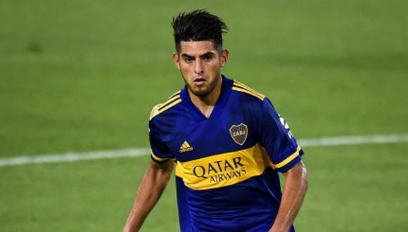Carlos Zambrano fue expulsado en el Boca Juniors vs. River Plate. (Foto: Getty Images)