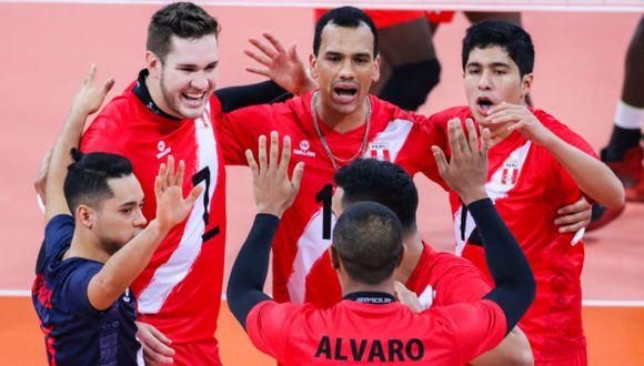 La selección de vóley masculino va por la gloria a Santiago. (Foto: FPV)