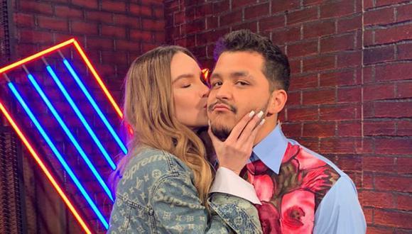Belinda y Nodal es una de las parejas más mediáticas de México. (@Ventaneandouno)