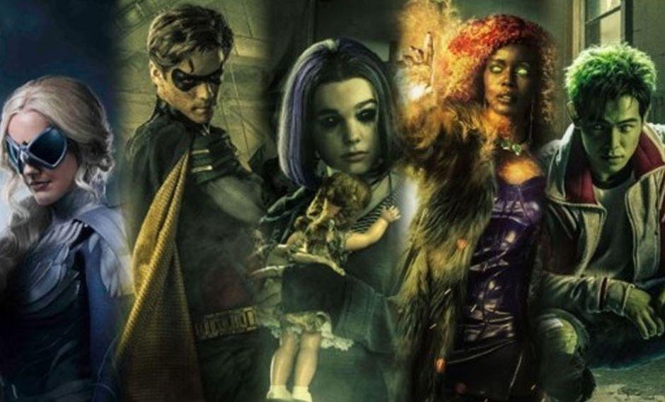 """""""Titans"""" es la nueva apuesta de DC Universe para volver a construir su universo de series de televisión (Foto: DC)"""