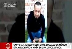 """Capturan a José Antonio """"el Marro"""" uno de los hombres más buscados de México"""