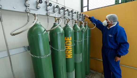 Bermúdez informó que la demanda actual de oxígeno medicinal es de 444 toneladas diarias. (Foto: GRA)